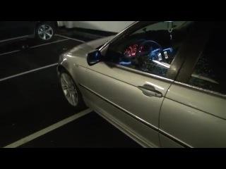 Лазерная проекция логотипа BMW