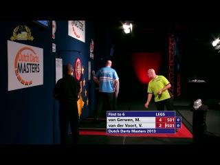 Michael van Gerwen vs Vincent van de Voort (Dutch Darts Masters 2013 / First Round)