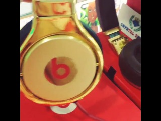 BeatsPro 24ct Gold plated