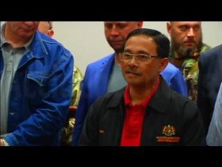 Бородай передал черные ящики малайзийской стороне Boroday handed black boxes Malaysian side