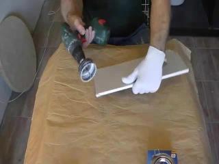 Установка точечных светильников видео