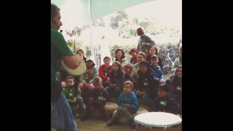 Самбатерия Детский барабанный тренинг