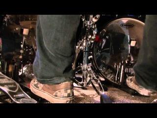 Flat Foot Техника - отличный и наглядный видеоурок для двухбочечных драммеров