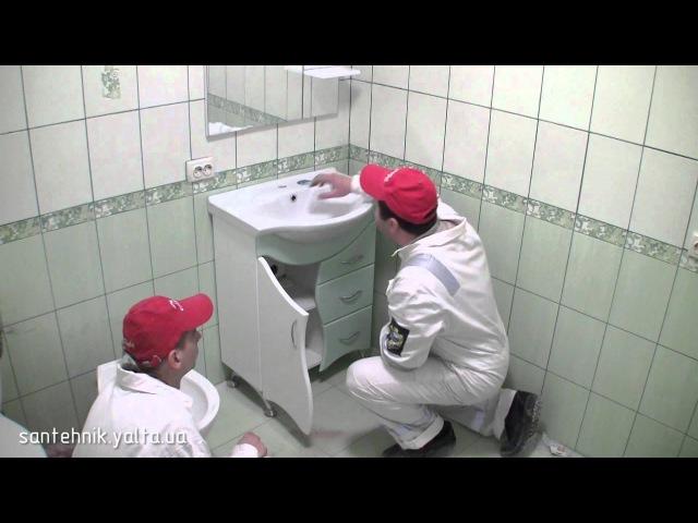 Видео в группе ИСТОК ПСК как установить умывальник в ванной комнате
