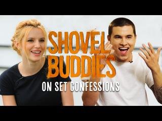 Kian Lawley & Bella Thorne On Set Confessions! | Shovel Buddies