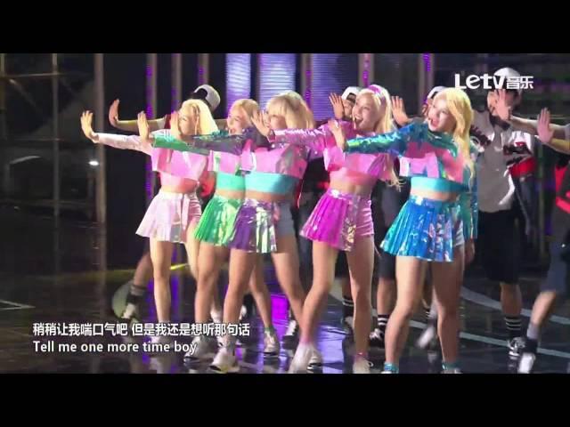 150920 Dream Concert 마이비(myB) - 심장어택(MY OH MY) @ 2015 경주 한류 드림콘서트