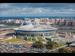 /Р|а|б|ы Санкт-Петербурга. Строительство стадиона Зенит-Арена.