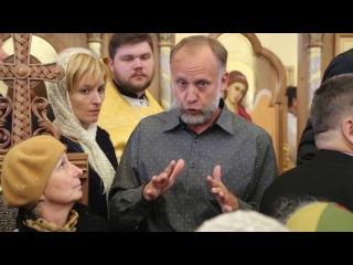 Божественная литургия в храме всех Святых в земле Российской просиявших