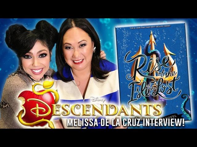 Disney Descendants INTERVIEW with Best Selling Author Melissa de la Cruz