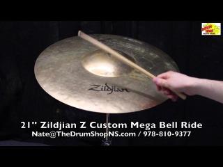 Zildjian Z Custom Mega Bell Ride 21'' - The Drum Shop North Shore