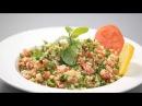Табуле - салат с булгуром (ливанская кухня). Готовит Уриэль Штерн
