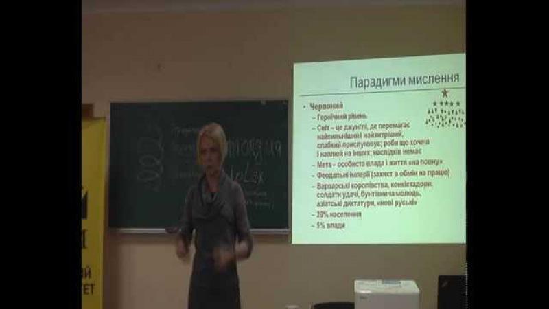 Оксана Марусич - Інтегральна динаміка та Теорія поколінь