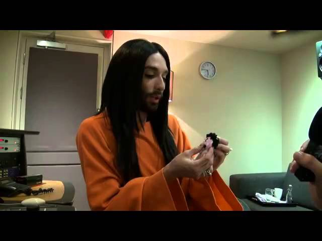 Conchita Wurst - Mearns FM, Tommys Eurovision Show