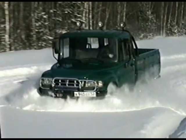 Опытный полноприводный пикап ГАЗ-2308 Атаман