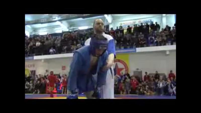 Чемпионат России по боевому самбо 2010 в городе Краснокамск.