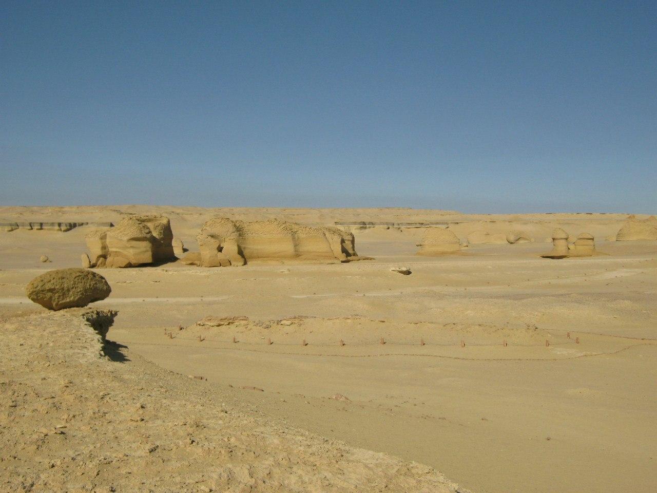 из Долины китов к югу от Каира