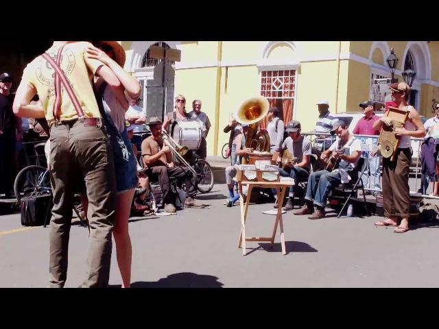 Tuba Skinny -Jackson Stomp - Royal St. 4/12/13 - MORE at DIGITALALEXA channel