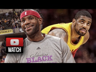Lebron James & Kyrie Irving Full Highlights at Pacers () - 54 Pts Total!
