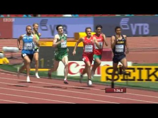 Men's 800m Heat 3 IAAF World Champs Beijing 2015