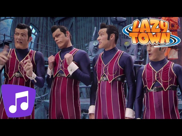 Lazy Town | We are Number One Music Video Videos For Kids