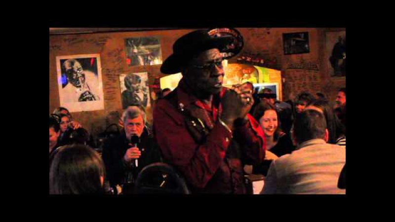 Bob Stroger Sweet So Sweet Live at B B King Moscow 30 01 2015