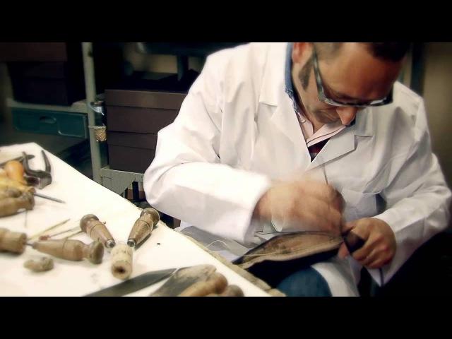 Louis Vuitton men's shoemaking in Fiesso d'Artico