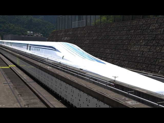 Japan's Maglev Train Fastest In The World At 603 Km Hr