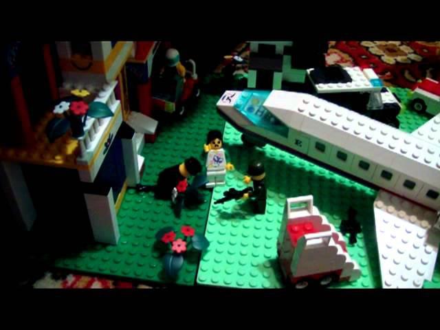Lego Ходячие мертвецы Мультфильм