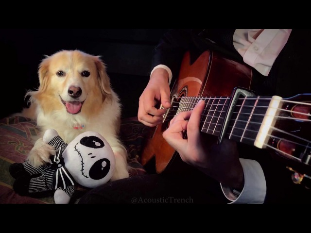 This Is Halloween Fingerstyle Guitar The Nightmare Before Christmas