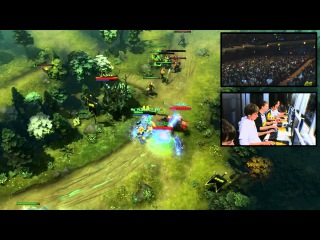 Dota 2 TI3 Top Play   Clip 17   XBOCT Alchemist Jukes Crowd Reaction + Pod Cam)