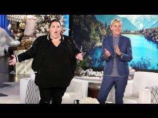 This Is Us Star Chrissy Metz Joins Ellen! RUS SUB