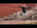 Smith Grind 10 Stair Handrail to Nose Manual Off 5 Stair!?!! - WTF! - Stephen Cowart
