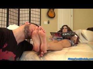 Nikki next foot worship foot worship smelling fetish feet smother domination trample