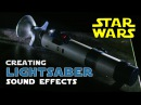 How to create STAR WARS Lightsaber sound effects | Shanks FX | PBS Digital Studios