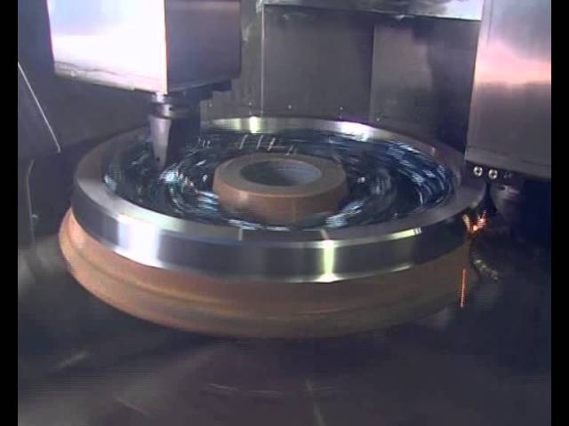 CNC Vertical Wheel Lathe Niles Simmons