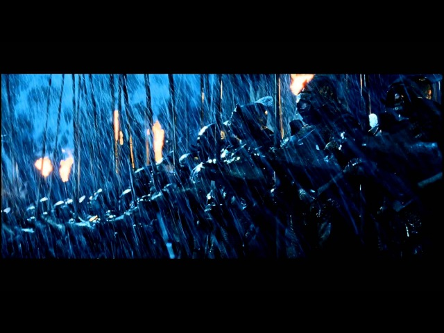 Lord of The Rings Battle of Helms Deep Opening