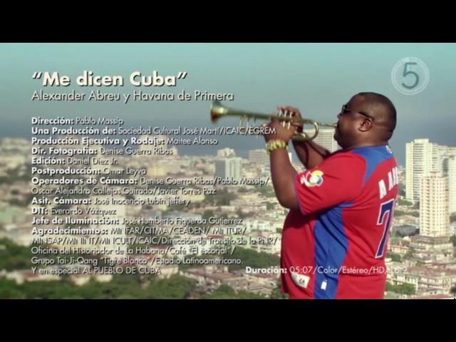 Havana D Primera Me Dicen Cuba Official Video