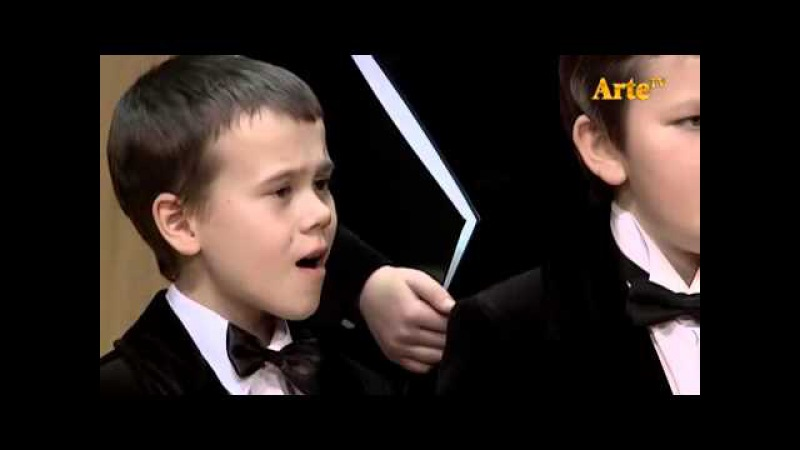 Solovyov-Sedoys Moscow Nights, sung by the Boys Choir of the Glinka Choral College