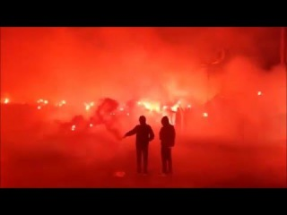 50 Jahre Hansa Rostock - Pyroshow am Ostseestadion ()