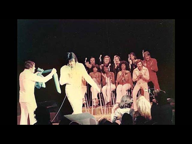 Elvis Presley Happy Birthday Charlie Hodge December 12 1976 Last Show at The Hilton Las Vegas