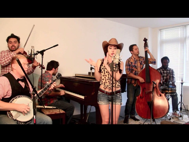 Blurred Lines - Vintage Bluegrass Barn Dance Robin Thicke Cover feat. Robyn Adele Anderson