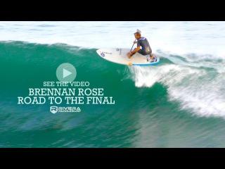 Road to the Final - Brennan Rose Wins Santa Cruz SUP Surf Comp #SUPVideo