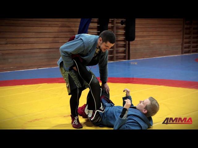 Школа боевого самбо с Игорем Исайкиным и 4MMA болевые на ноги ахилл и рычаг колена