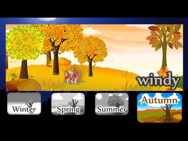 Видеоурок по английскому языку Seasons and Weather
