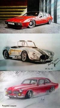 фото рисунки на авто