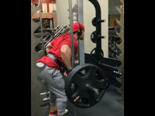 """2x Mr. Olympia Physique Champ on Instagram: """"And some bent over rows took place today. 8 sets to be exact. Today they felt really good and worked my way up to 275. This was my last set…"""""""