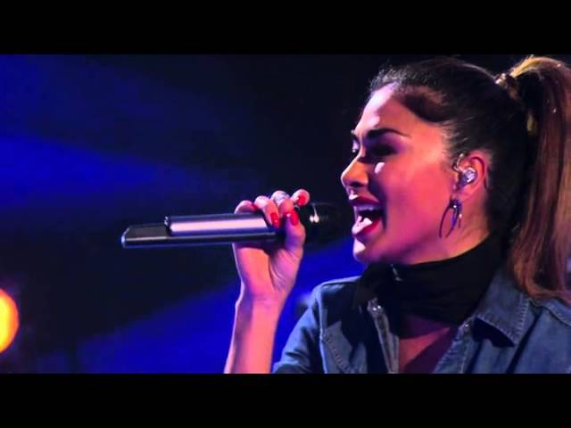 Nicole and John Newman perform I Don't Wanna Miss a Thing