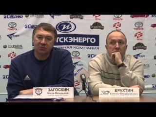Пресс-конференция И.В.Загоскина и Е.В.Ерахтина