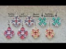 Dazzling Crystal and Superduo Beaded Earrings Tutorial