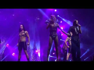 Conchita Wurst and Courtney Act Live Performance at Sydney Gay and Lesbian Mardi
